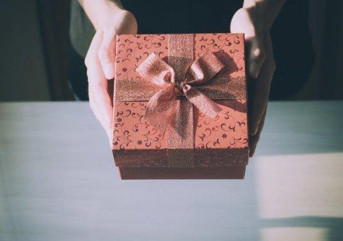 プレゼントBOX 贈る