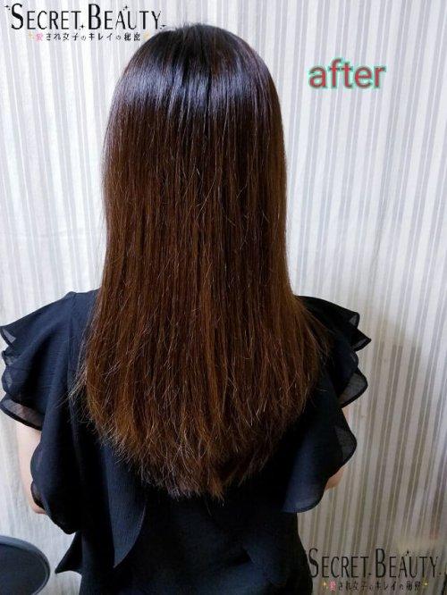 サラサラまとまる髪