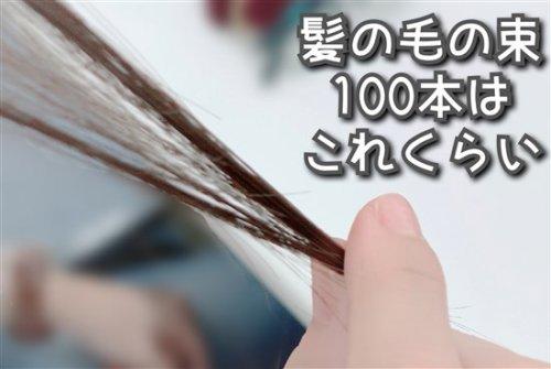 100本の髪の毛