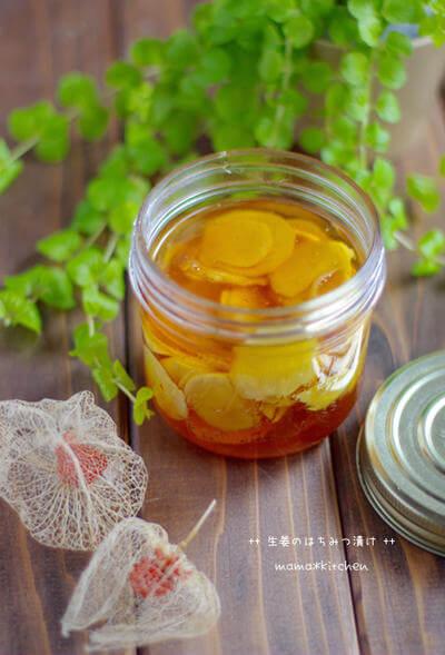 ハチミツジンジャー レシピ