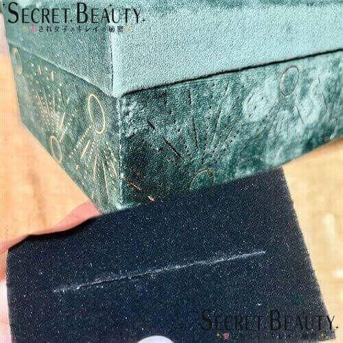 jewelry boxとスポンジ