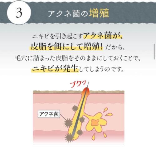 ニキビ発生のメカニズム3