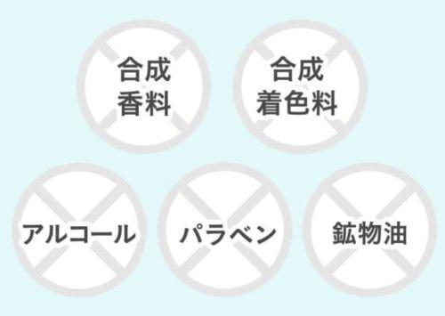 アピナチューレWリッチローションの5つの無添加